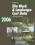 Site Work & Landscape Cost Data 2006 (Means Site Work and Landscape Cost Data) (Paperback)